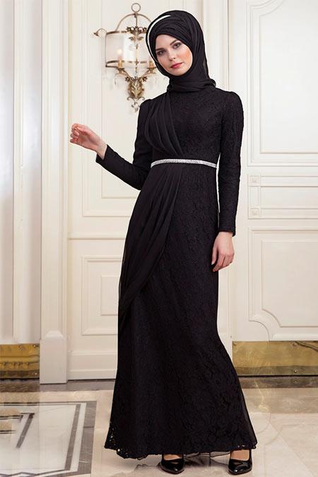 An-Nahar Siyah Nehar Abiye Elbise