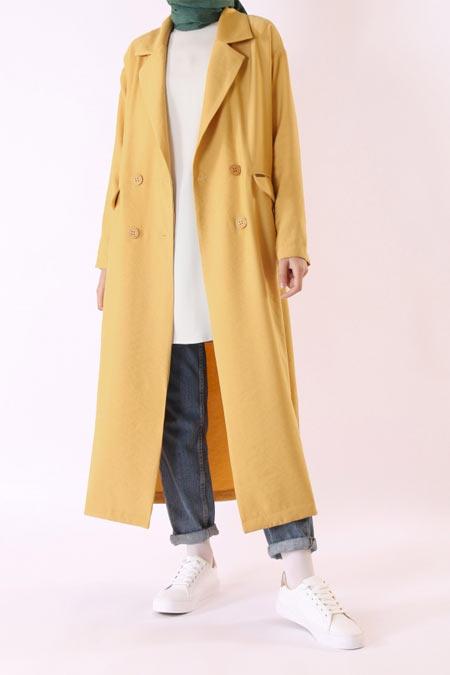 HE-QA Sarı Sera Ceket