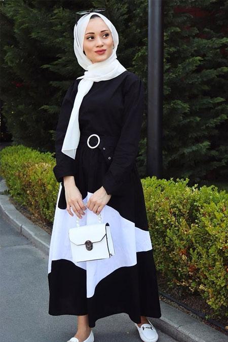 Hg Butik Siyah Elbise