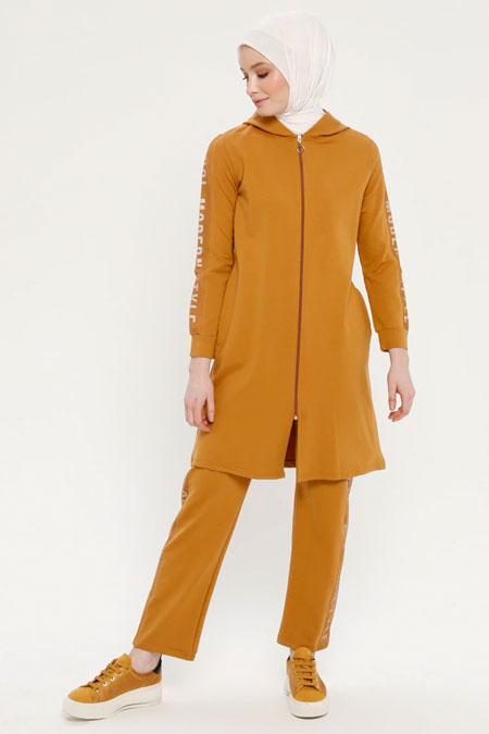 Loreen By Puane Taba Tunik & Pantolon İkili Takım