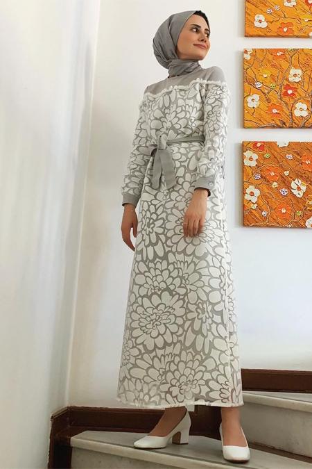 Manila Beyaz Elbise