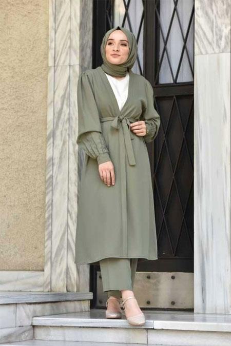 Moda Bahar Yeşil İkili Takım