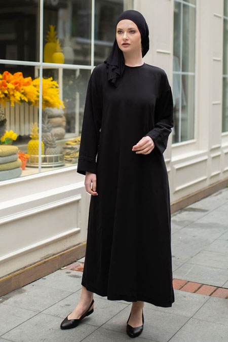 NURNİSA boutique Siyah Elbise
