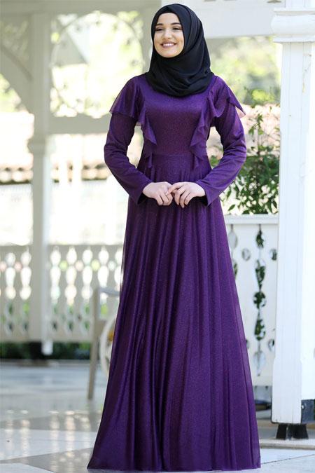 Rana Zenn Mürdüm Bahar Elbise