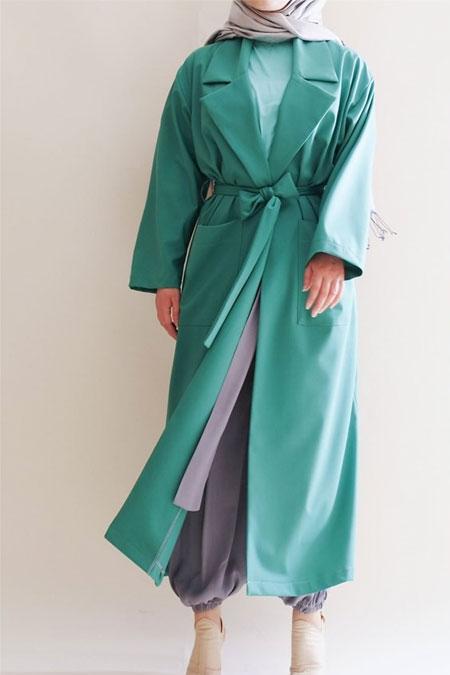 Sümeyra Küçükşahin Yeşil Ceket
