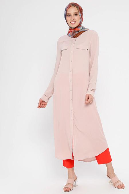 Nihan Pudra Cepli Elbise Tunik