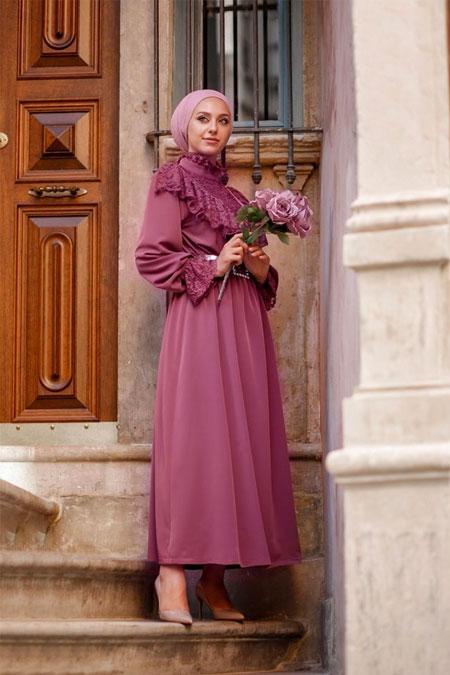 Esra Keküllüoğlu Dantelli Elbise