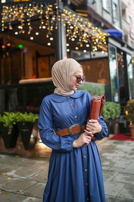 Esra Keküllüoğlu Mavi Dönem Elbise