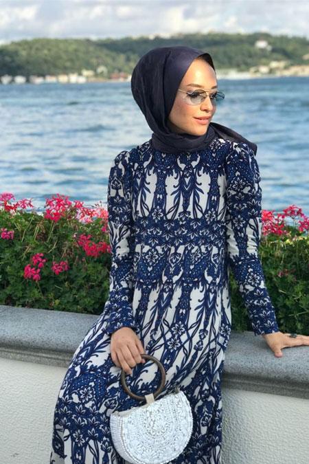 Kübra Karakaş Yazlık Alaçatı Tarzı Uzun Elbise