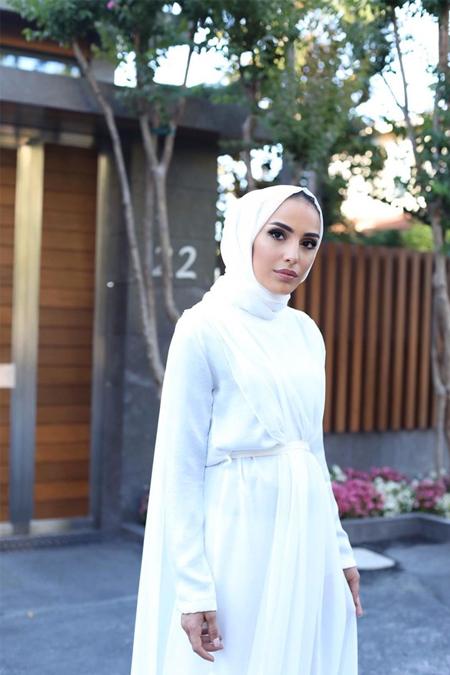 BERNİLLAY Beyaz Elbise