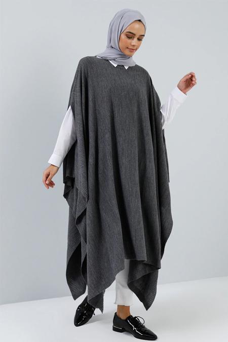 Benin Antrasit Uzun Triko Panço