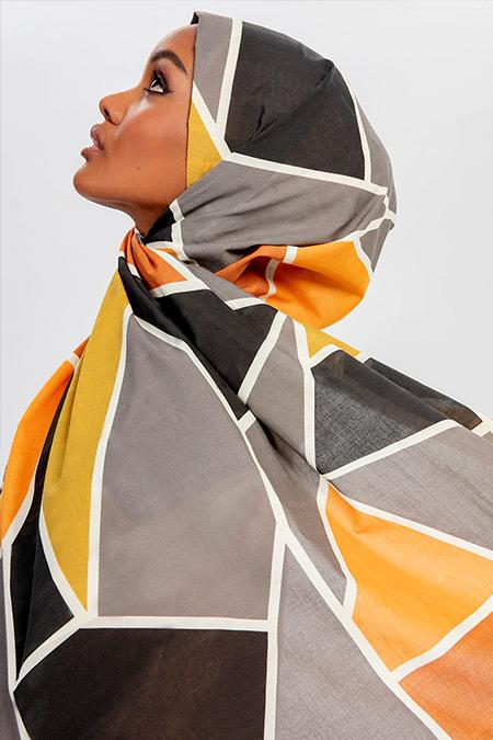 Halima X Modanisa Karışık Renkli Eliza Koton Şal