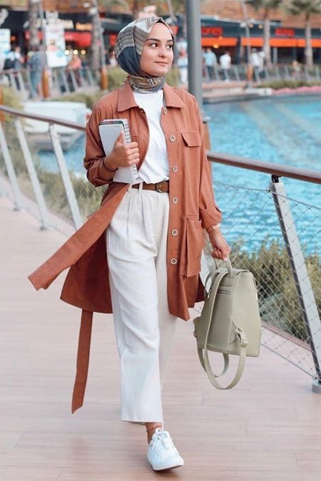 Refka Kahverengi Cep Detaylı Düğmeli Ceket