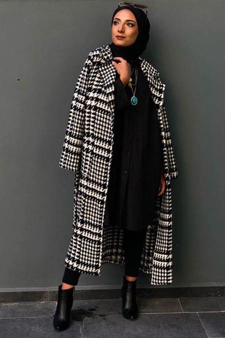 Milena Creation Siyah Kazayağı Ceket