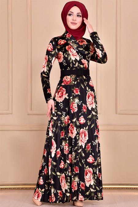 Modamerve Siyah Elbise