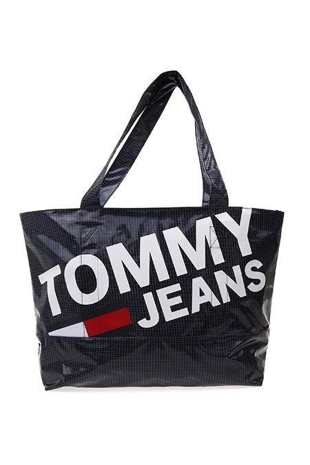 Tommy Hilfiger Siyah Lacivert Tote Çanta
