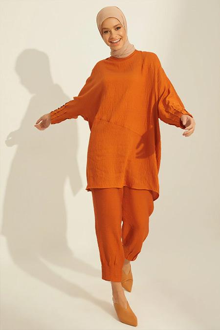 Mnatural Tarçın Tunik&Pantolon İkili Takım
