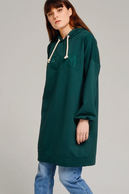 De-mim Yeşil Mula Sweatshirt