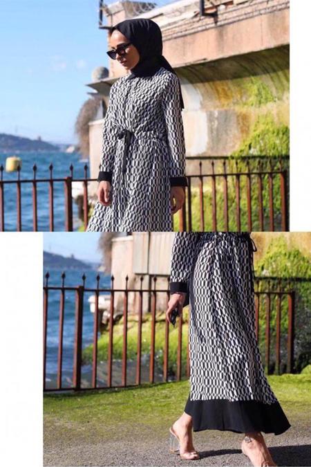 Bernillay Butik Noor Elbise