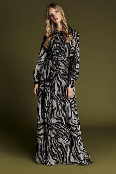Latifa Vizon Meghan Biyeli Elbise
