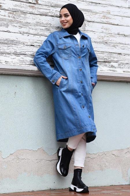 Neways Mavi Kot Ceket