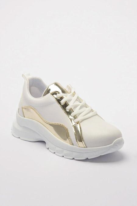 Trendyolmilla Beyaz Kadın Sneaker