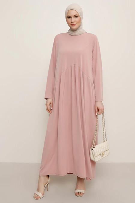 Alia Somon Pileli Elbise