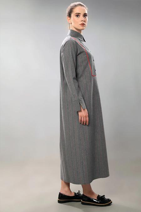 SAHRA AFRA Füme Torch Elbise