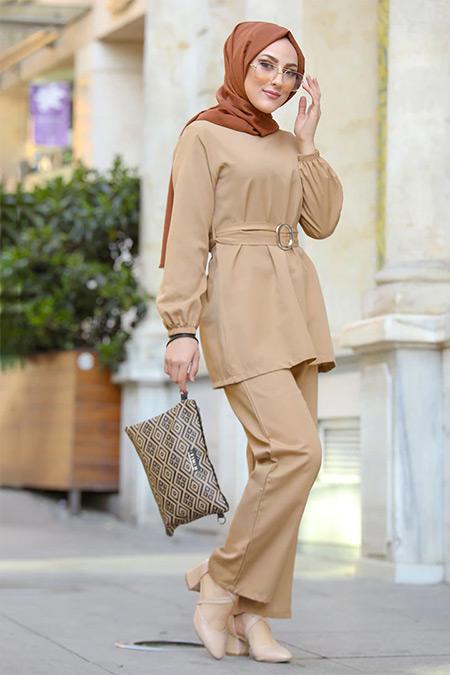 Tofisa Vizon Tunik&Pantolon İkili Takım