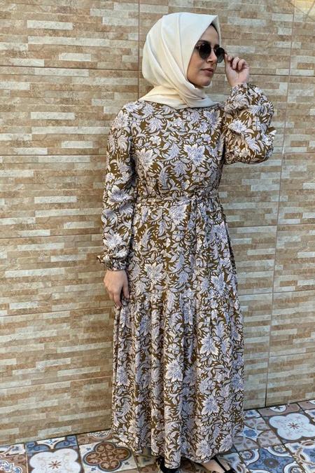 Aytustyle Fırfırlı Elbise