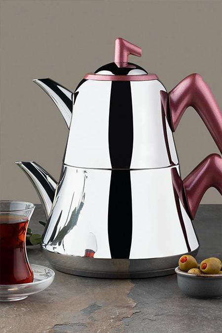 Emsan Kırmızı Harika Çaydanlık Takımı