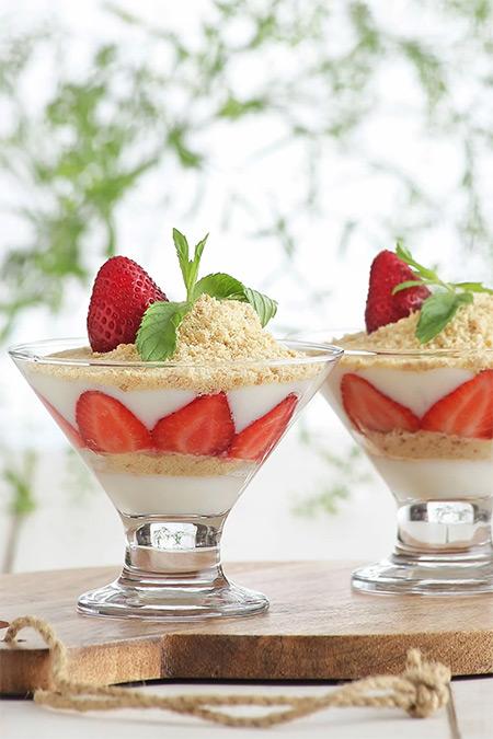 Lav Crema 6'Lı Tatlı Servisi ve Dondurmalık