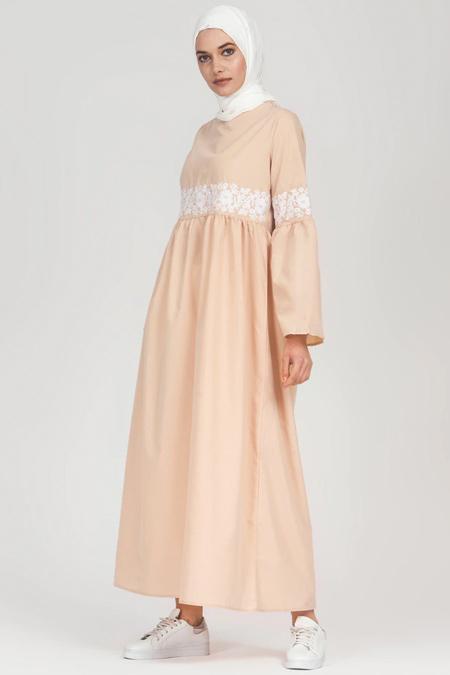 Refka Bej Nakış Detaylı Elbise