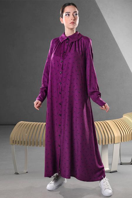 Sahra Afra Mor Momante Elbise