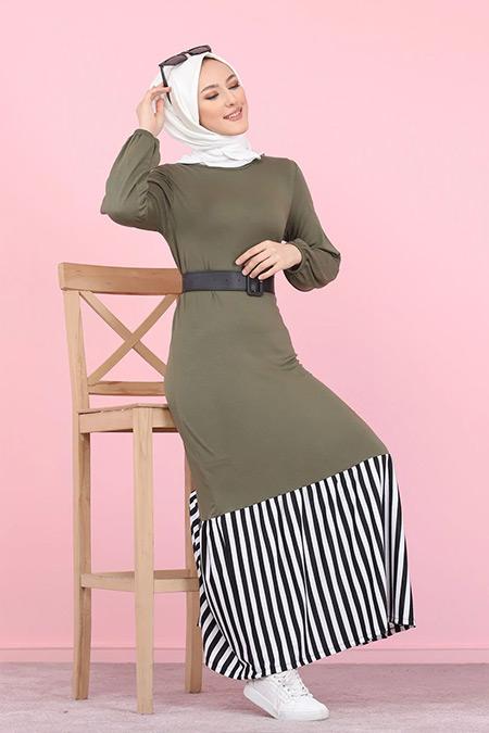 Tofisa Haki Tesettür Elbise