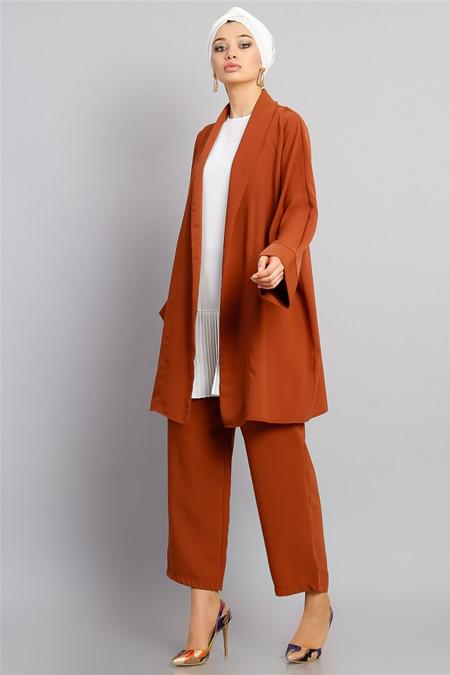 Modamelis Tarçın Pantolonlu Ceket Takım