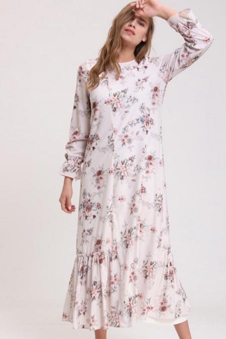 Nhl Butik Bahar Dalı Elbise