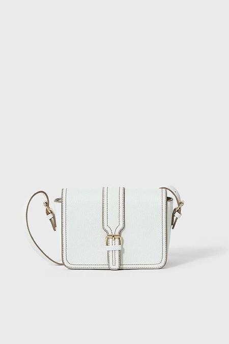 Stradivarius Beyaz Kare Çapraz Askılı Çanta