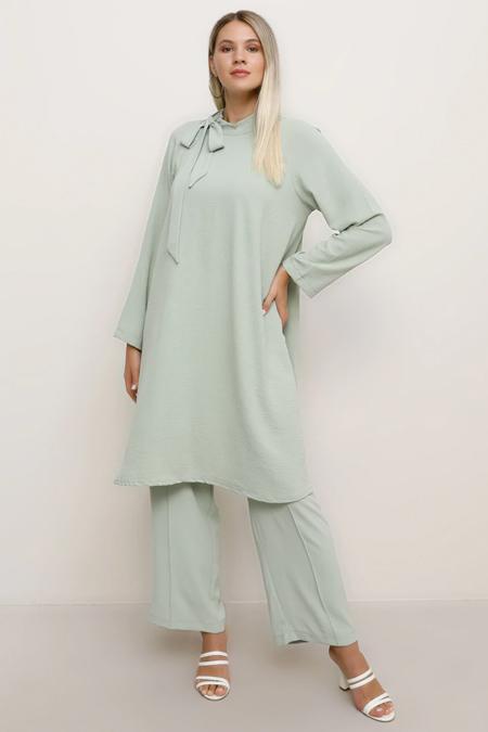 Alia Su Yeşili Tunik & Pantolon İkili Takım