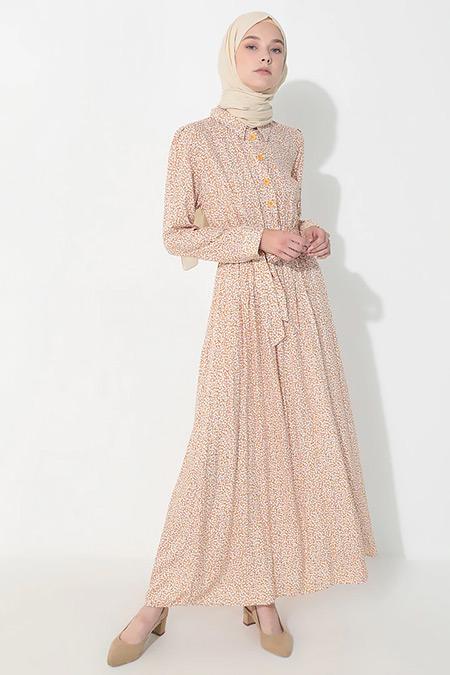 Suem Hardal Çiçek Desenli Elbise