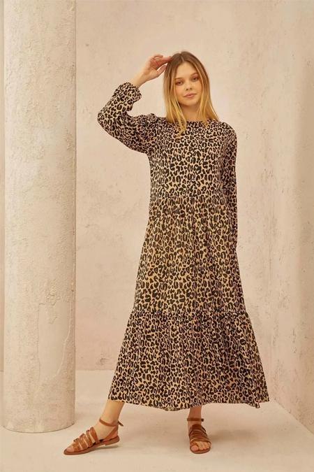 Terzi Dükkanı Leopar Elbise