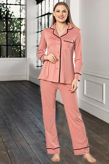 Artış Collection Mercan İkili Pijama Takımı