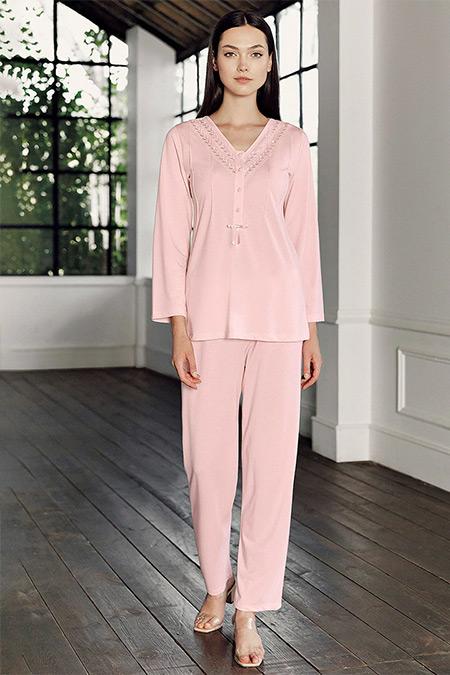 Artış Collection Pudra İkili Pijama Takımı