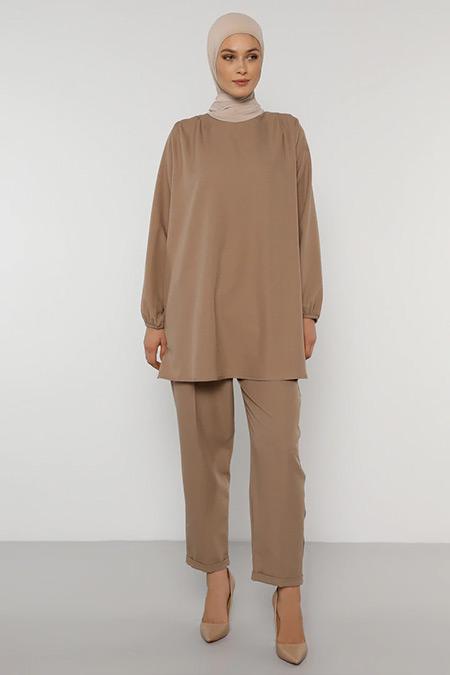 Refka Koyu Vizon Klasik Pantolon