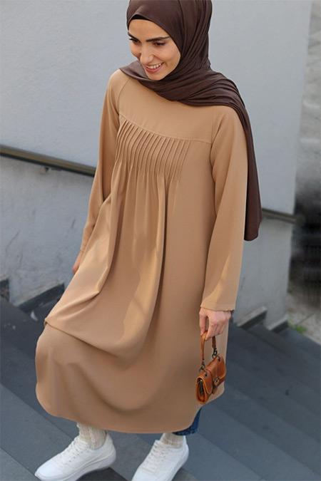 Qanu Camel Sare Tunik