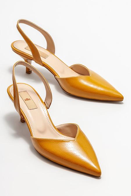 Elle Hardal Topuklu Ayakkabı