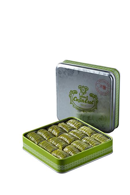 Şekerci Cafer Erol Yeşil Teneke Kutu Fıstıklı Özel Dürüm