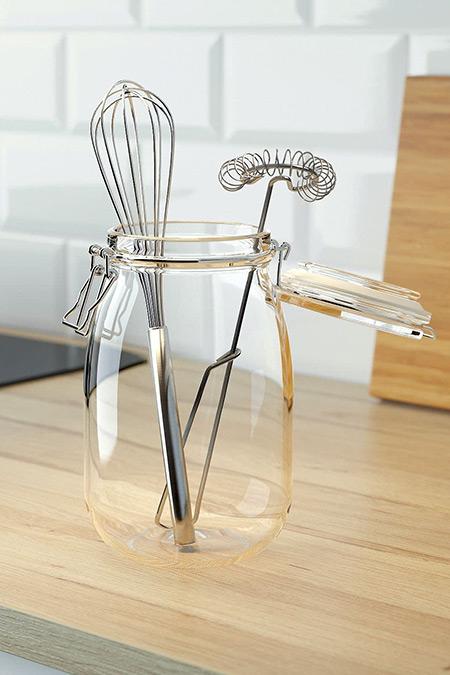 IKEA Idealisk İkili Metal Çırpıcı Seti