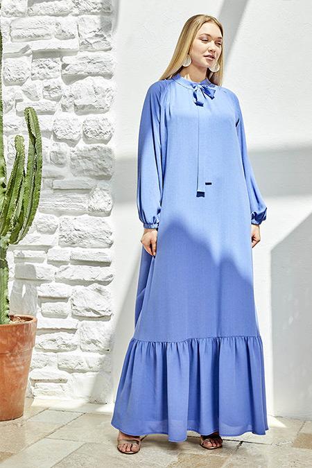 Ayşen Özen Menekşe Efsun Elbise