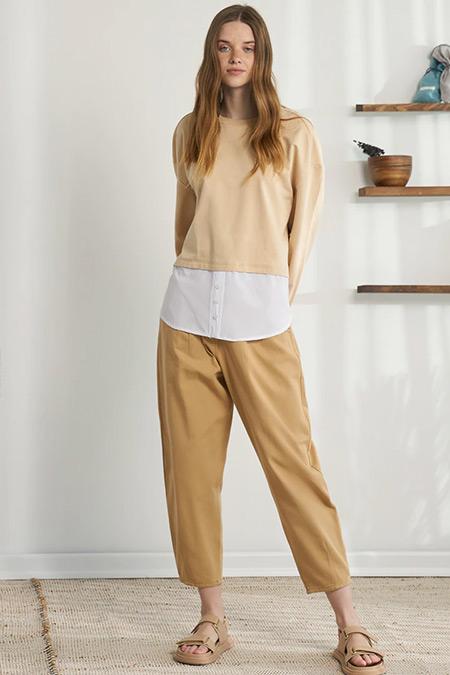 Modaamira Vizon Gömlek Detaylı Sweatshirt